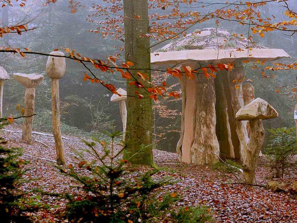 Mycelium Bauten