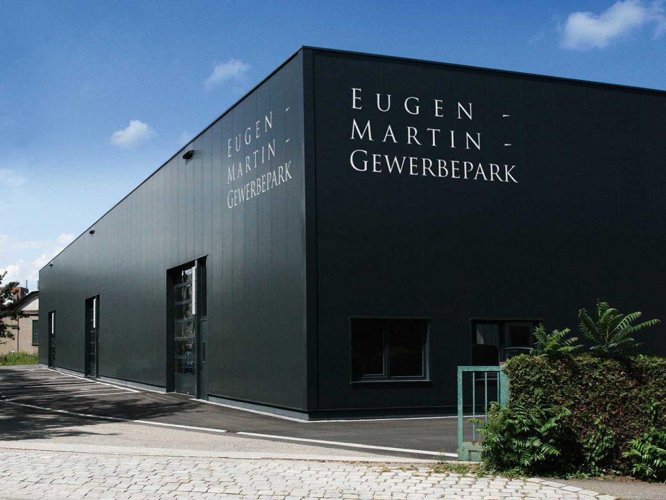 Aussenaufnahme vom Eugen-Martin-Gewerbepark